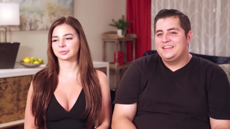 Anfisa and Jorge in an interview