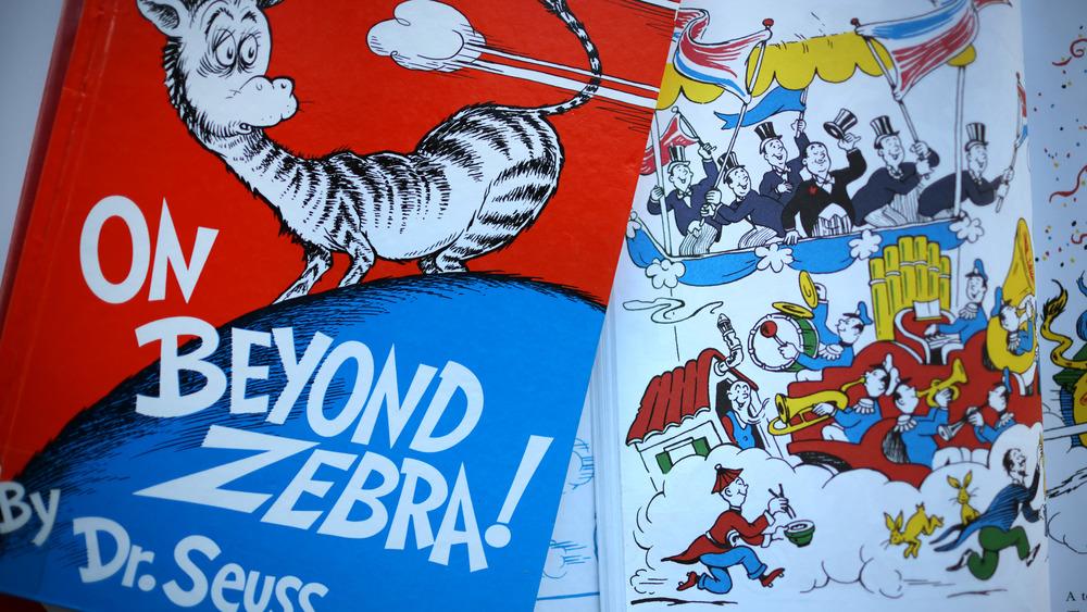 "Dr. Seuss book ""On Beyond Zebra"""