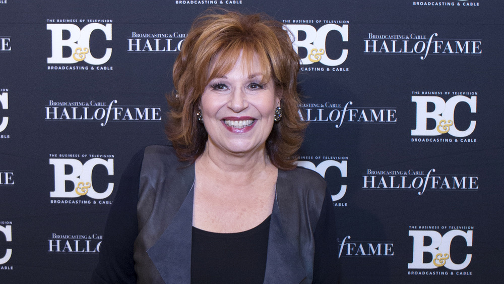 Joy Behar at a press event
