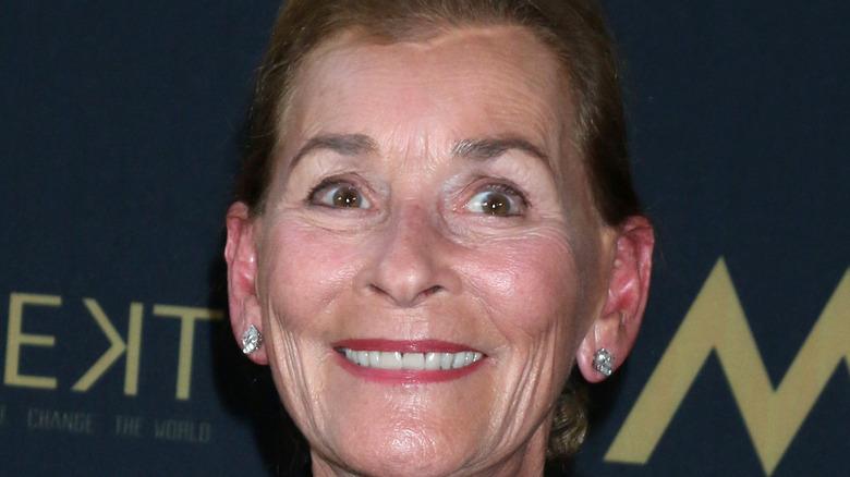 Judy Sheindlin smiling