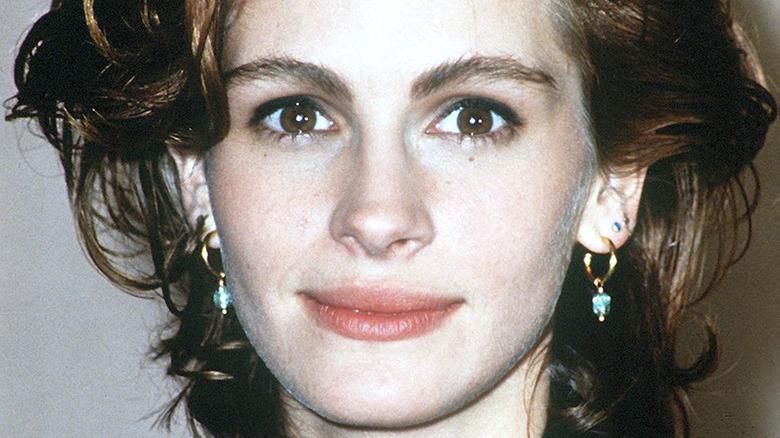 Julia Roberts close up in 1990