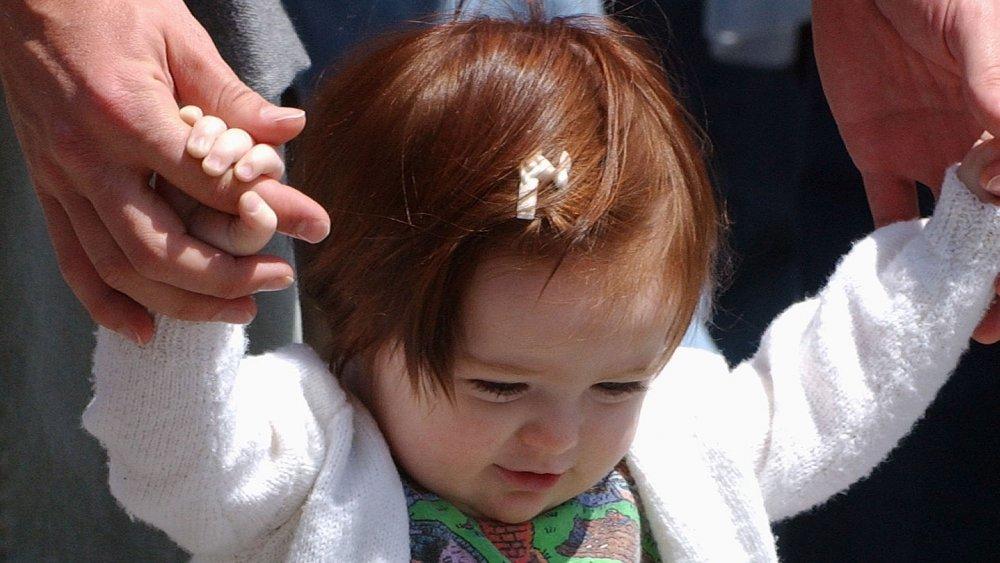 Liv Freundlich as a toddler, up-close
