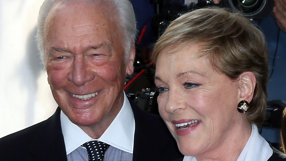 Christopher Plummer, Julie Andrews smiling