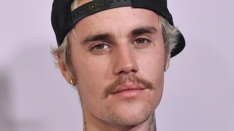 Justin Bieber unsmiling