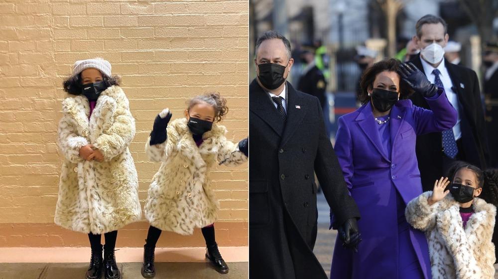 Kamala Harris nieces Inauguration Day