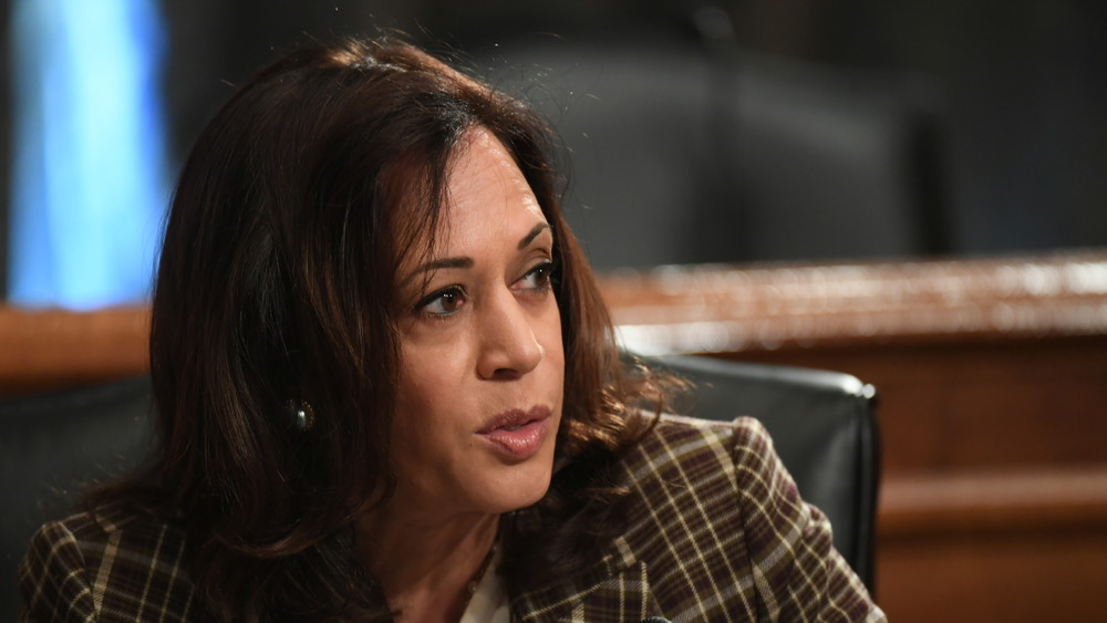 Kamala Harris at the Senate