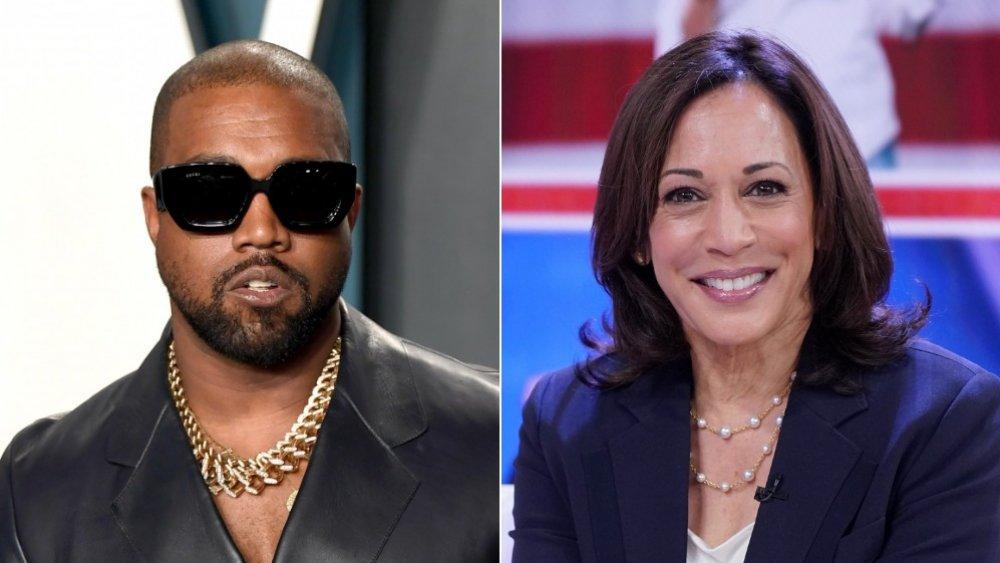 Kanye West, Kamala Harris
