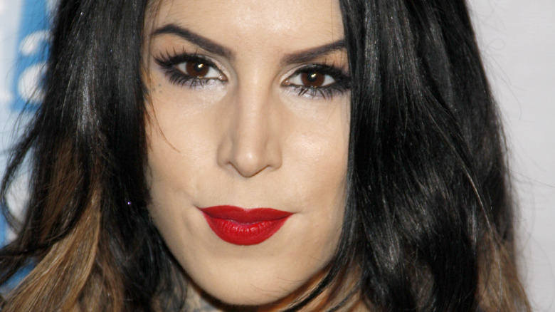 Close Up of Kat Von D