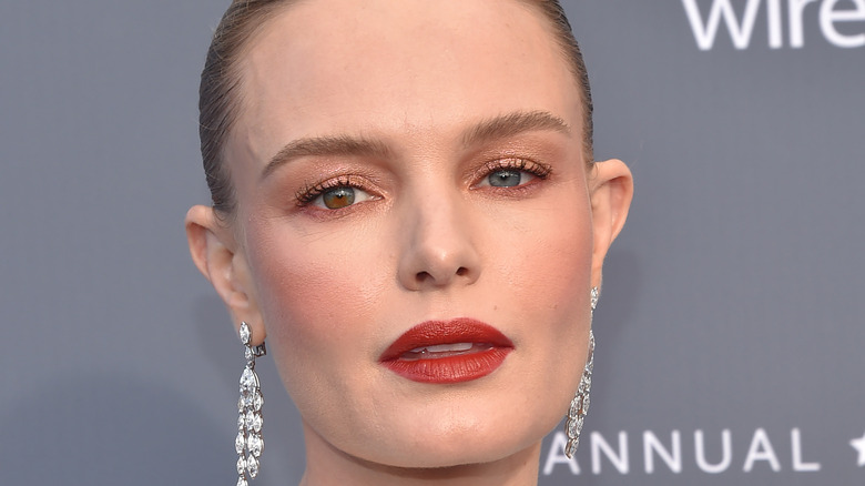Kate Bosworth with red lips