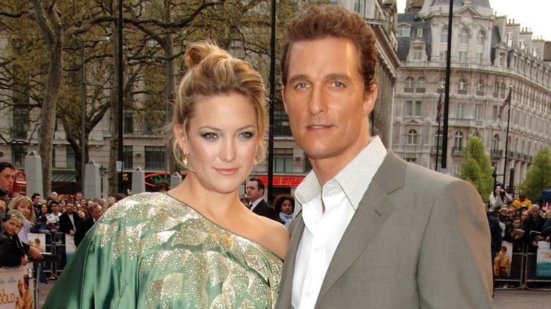 Kate Hudson and Matthew McConaughey smiling