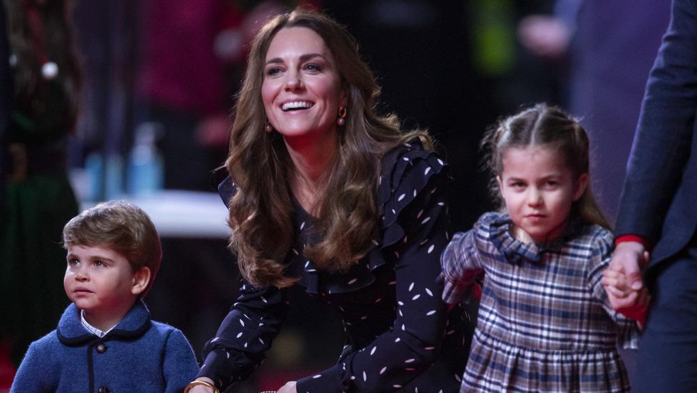Kate Middleton with children