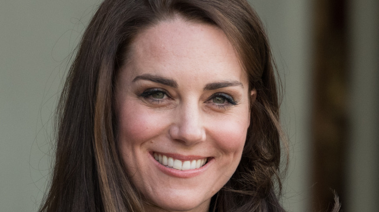 Kate Middleton attending a royal event