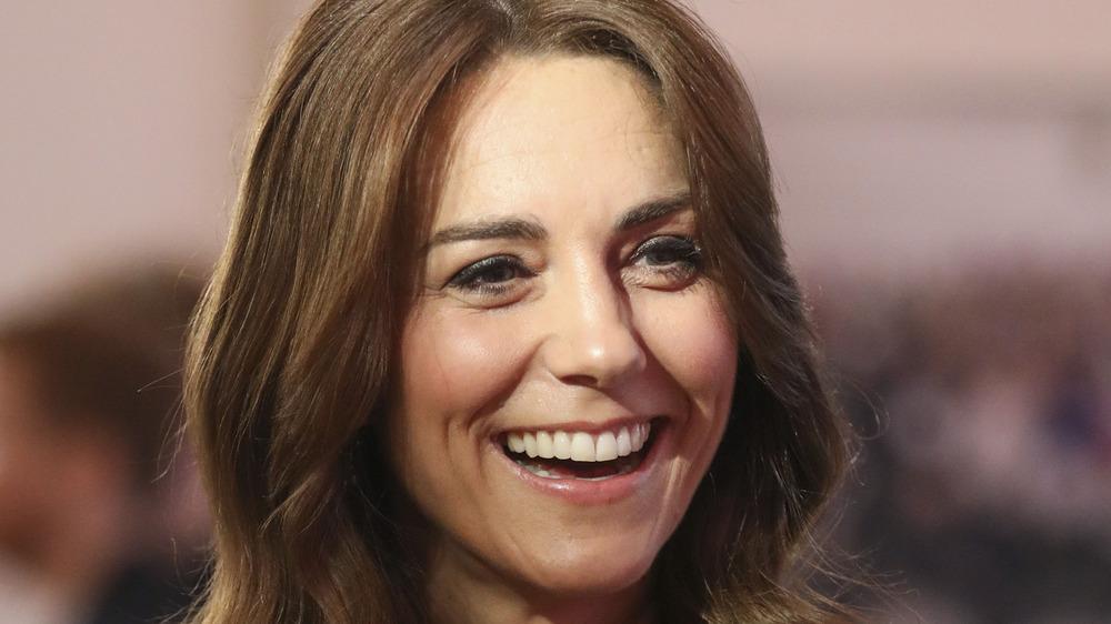 Kate Middleton smiles