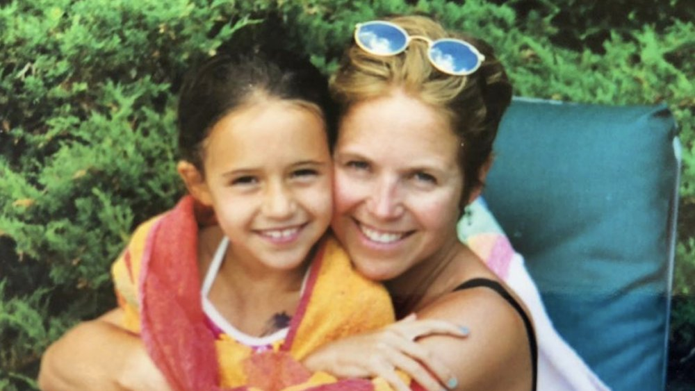 Katie Couric and her daughter Ellie Monahan
