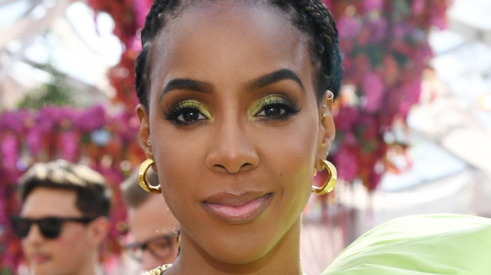 Kelly Rowland at brunch