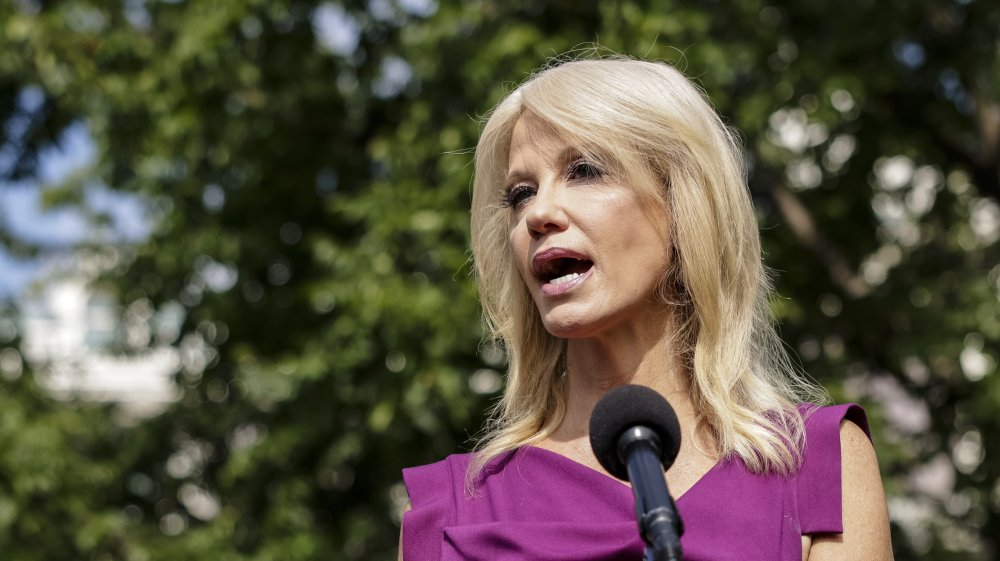 Kellyanne Conway at the white house