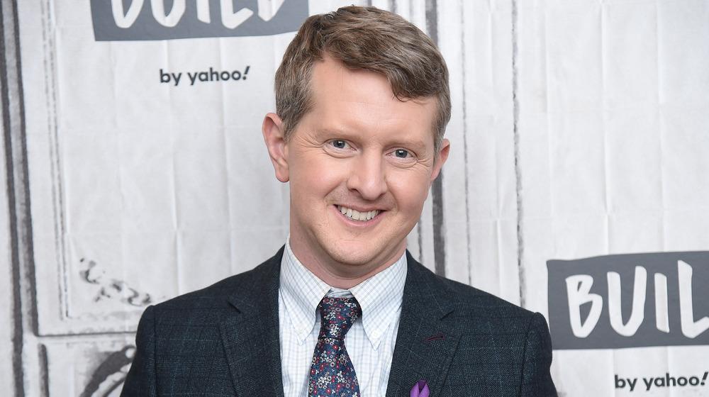 Ken Jennings smiles at an event