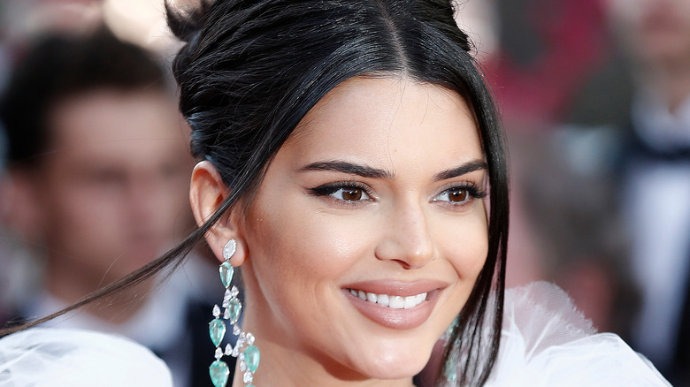 Kendall Jenner smiling at event