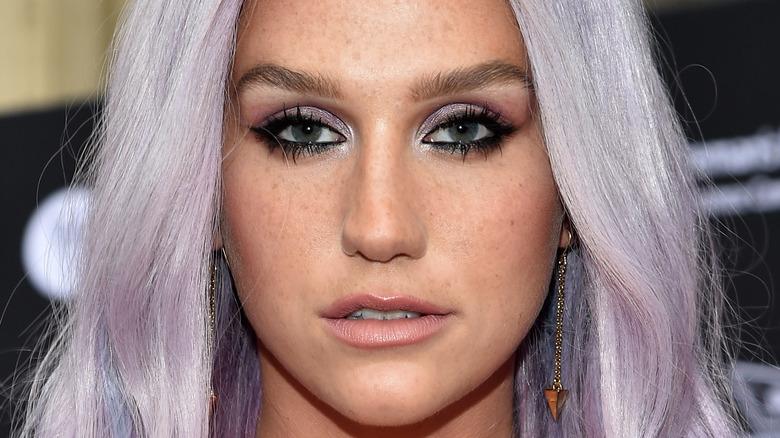 Kesha smiling close-up