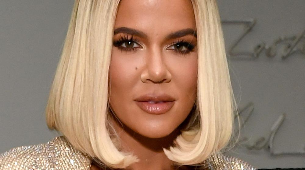Khloe Kardashian at an event