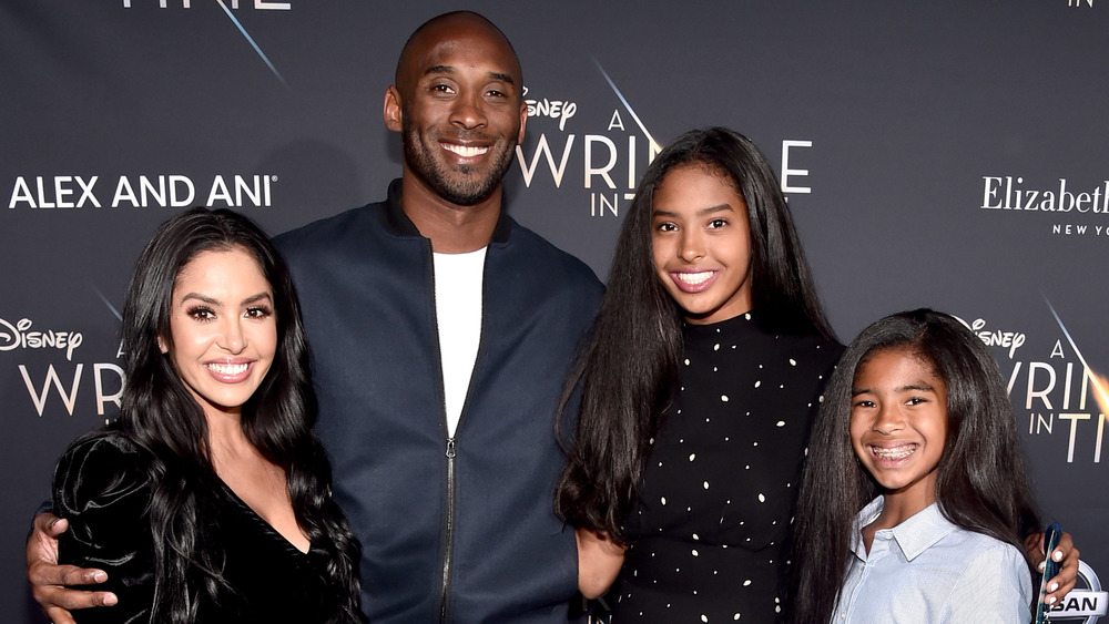 Kobe and Vanessa Bryant family