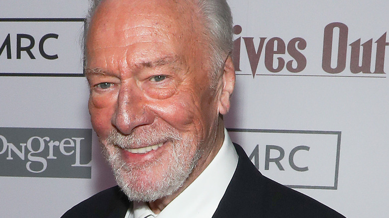 Christopher Plummer of Knives Out