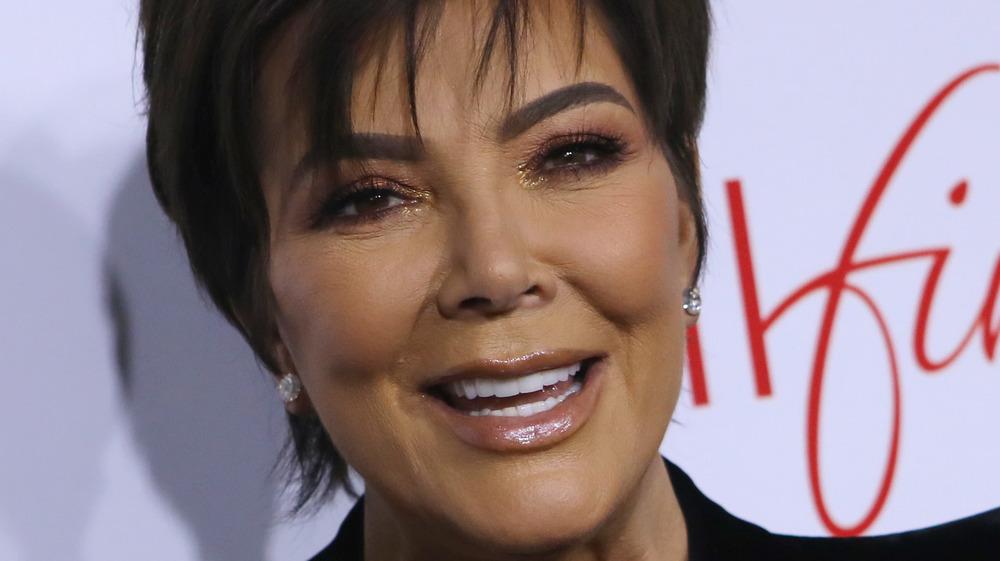 Kris Jenner smiling