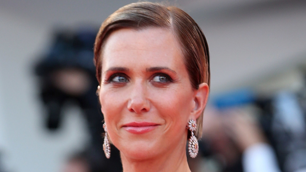 Kristen Wiig at Venice premiere for downsizing
