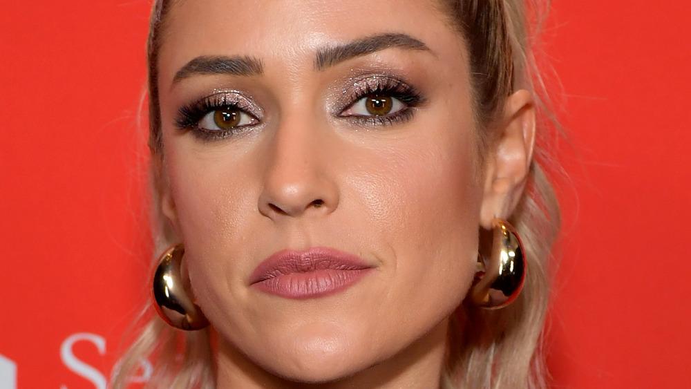 close up of Kristin Cavallari's face