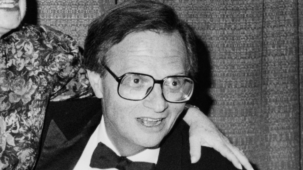 Larry King at Cable Ace Awards in 1988