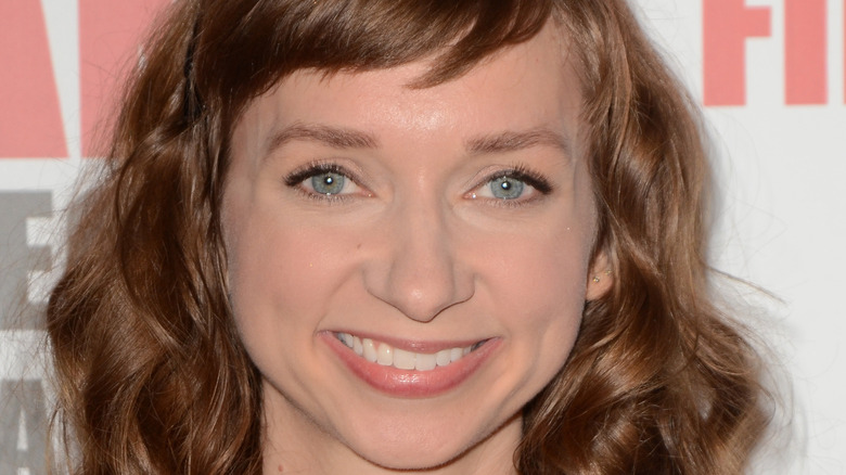 Lauren Lapkus smiling