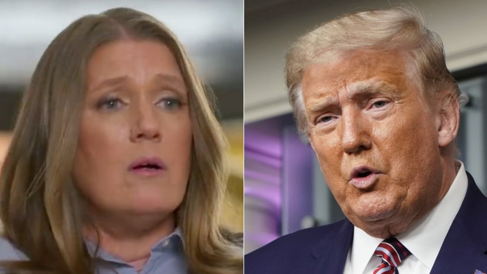 Mary Trump and Donald Trump