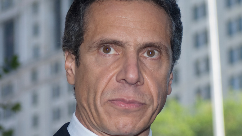 Andrew Cuomo speaking at an event