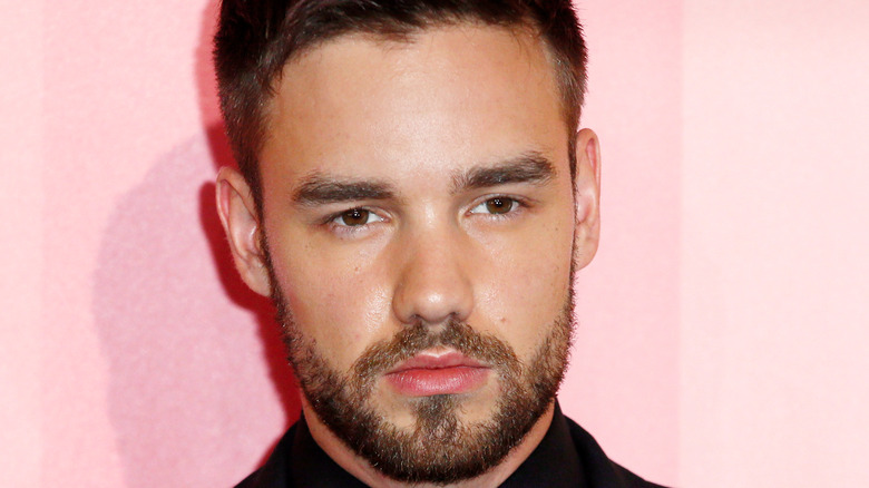 Liam Payne on the red carpet