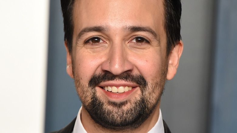 Lin-Manuel Miranda smiling
