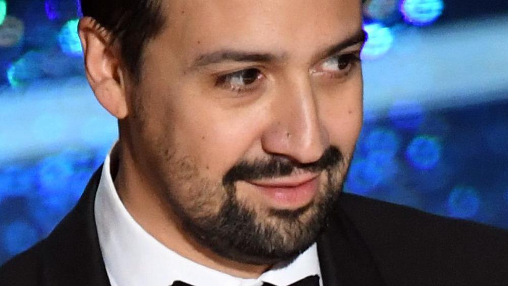 Lin-Manuel Miranda at awards show