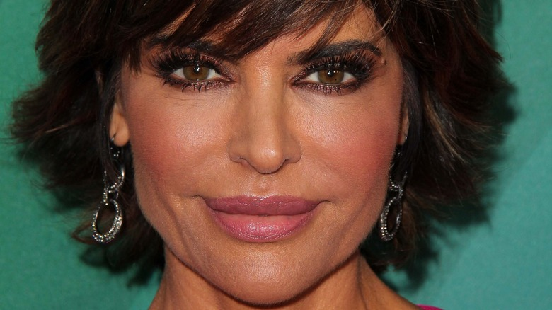 Lisa Rinna poses at an event.