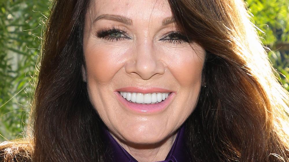 Lisa Vanderpump smiling outside
