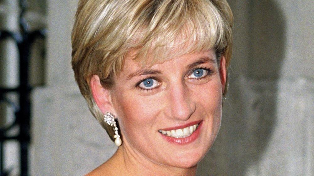 Princess Diana at a formal event
