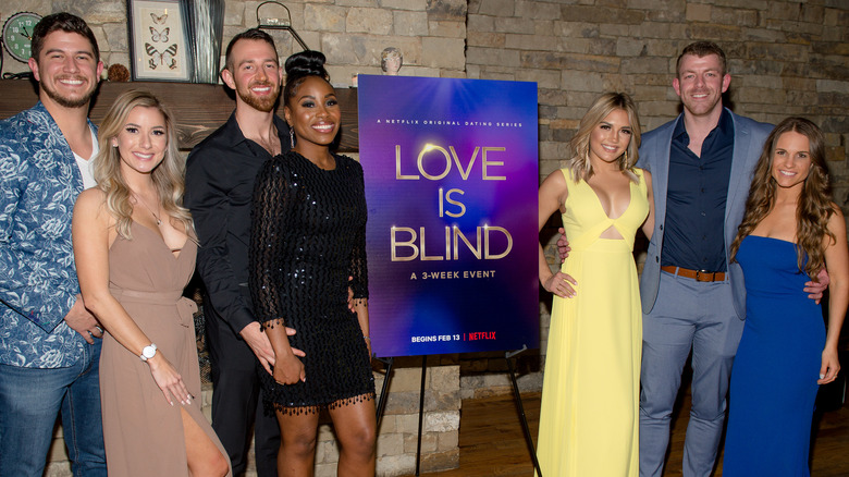 """""""Love is Blind"""" cast"""