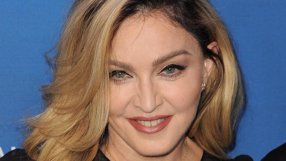 Madonna attending an event
