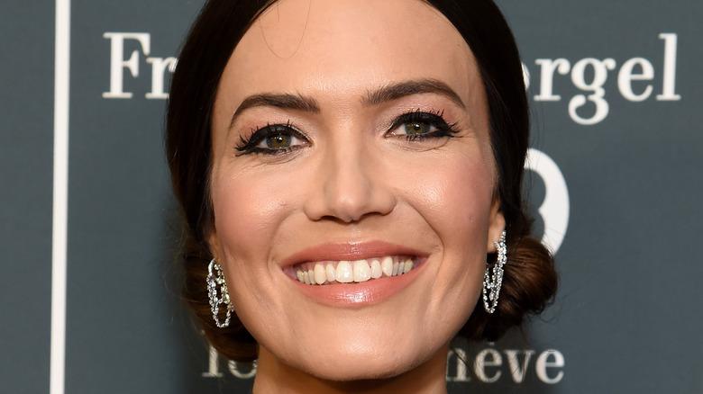 Mandy Moore smiling