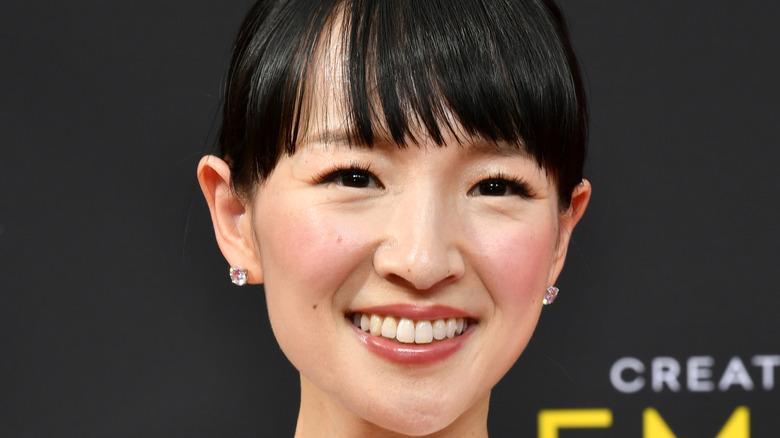 Marie Kondo close up