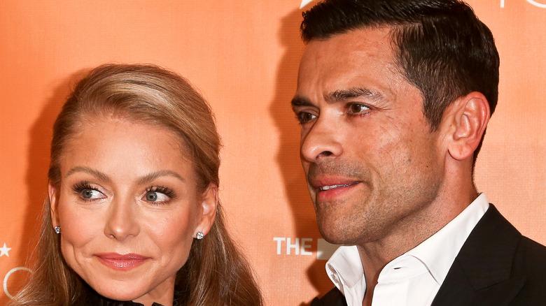 Mark Consuelos and Kelly Ripa New York Gala