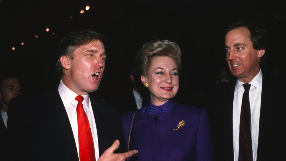 Donald, Maryanne, and Robert Trump