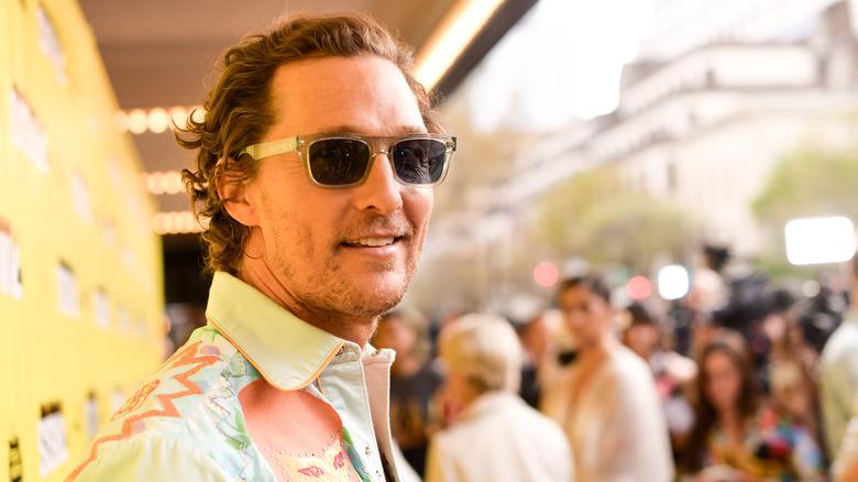 Matthew McConaughey smiles