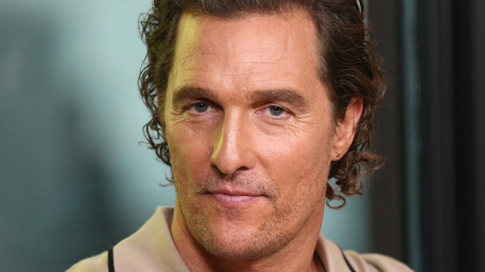 Matthew McConaughey onstage