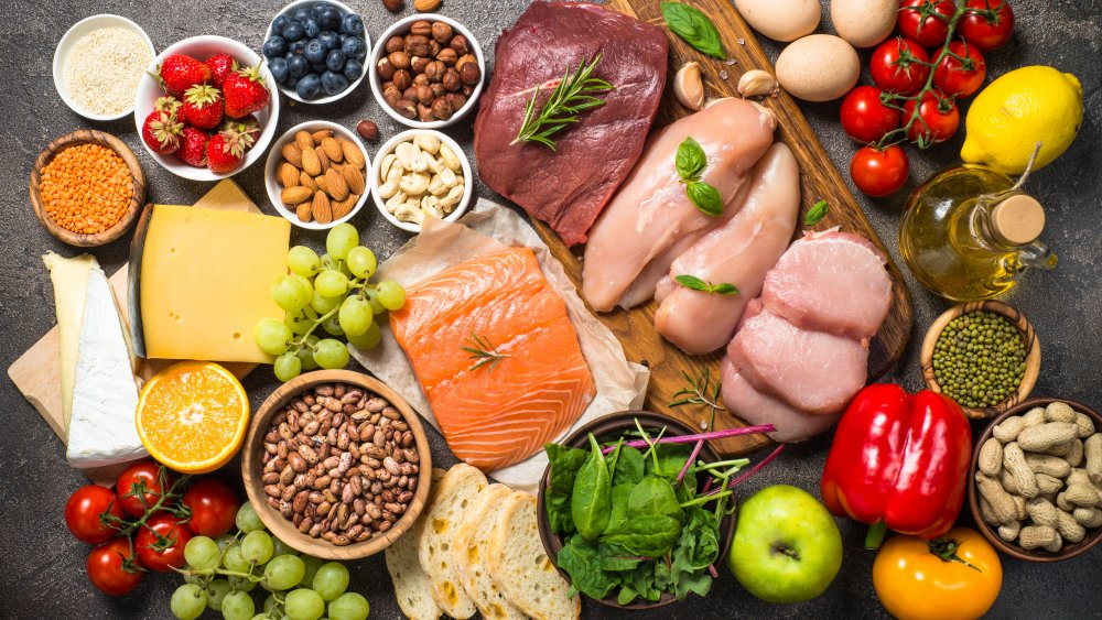 foods in a balanced diet