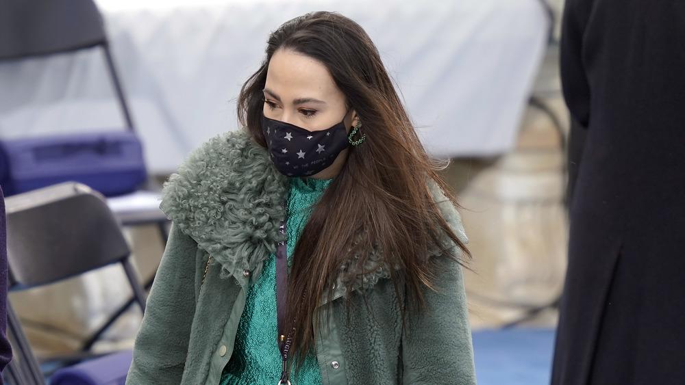 Meena Harris looks stylish at the 2021 Inauguration