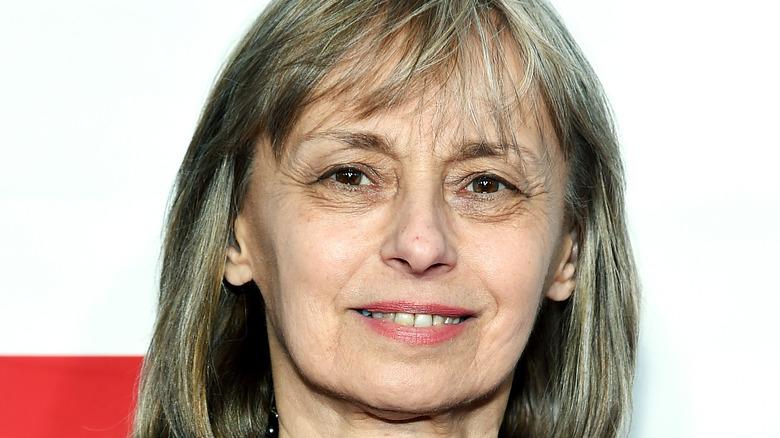 Barbara De Fina on the red carpet